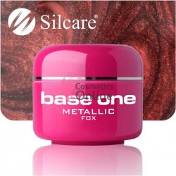 Gel UV Base One Silcare metalic Fox 5 ml